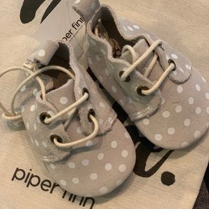 Piper Finn Leather Oxfords Size 1 NWT